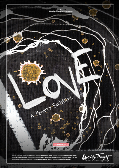 Love - A Memory Sculpture Poster